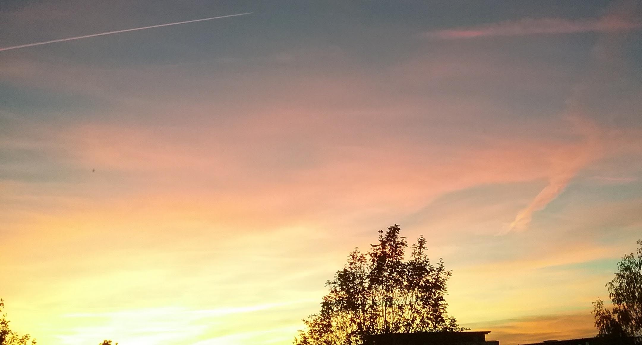 Abendliche Himmellandschaft 11