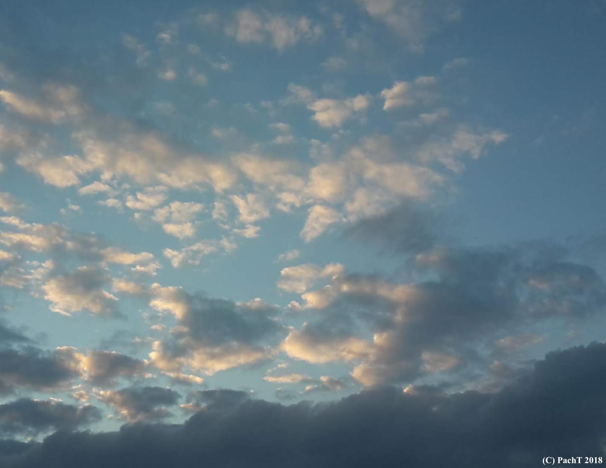 Abendliche Himmellandschaft 13