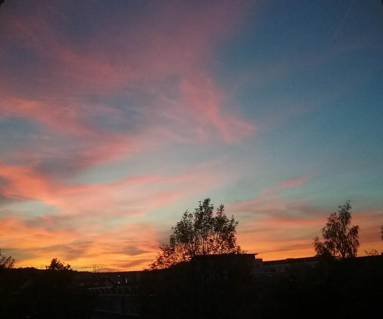 Abendliche Himmellandschaft 14