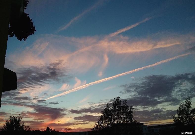 Abendliche Himmellandschaft 9