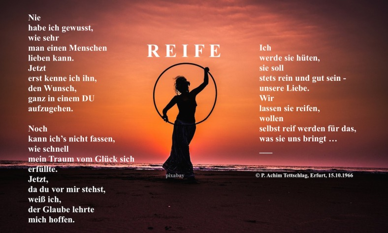 Gedicht im Bild_Reife 1966