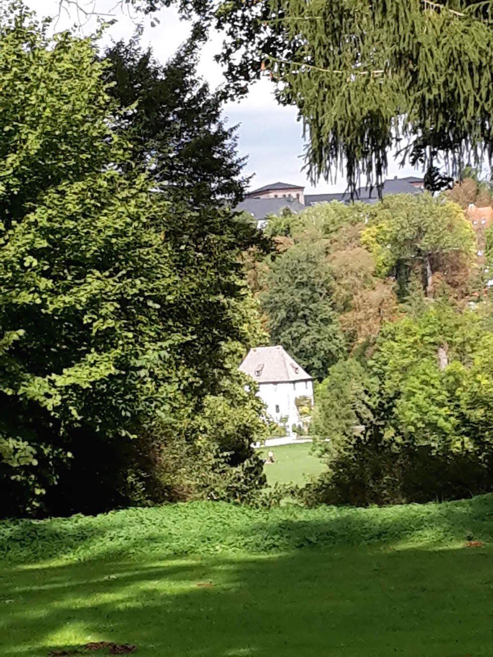 Weimar GoetheGartHaus IlmPark Sommer 9 2018