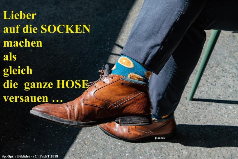 ZitatSpont Socken