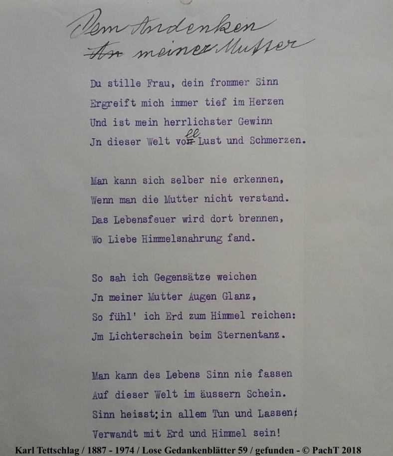 1887 - 1974 Erinnerungen an meinen Opa _ Lose GedankenBlätter 59