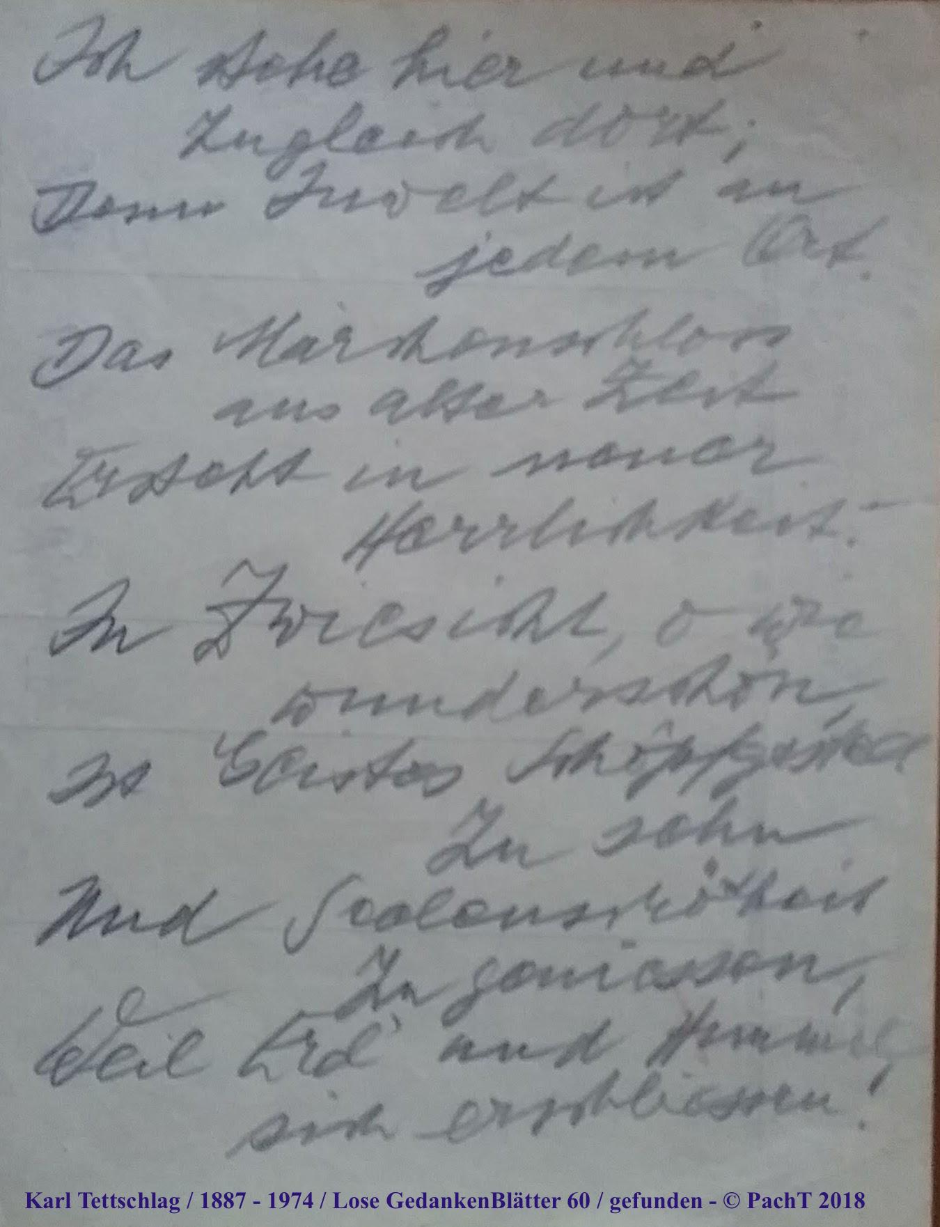 1887 - 1974 Erinnerungen an meinen Opa _ Lose GedankenBlätter 60