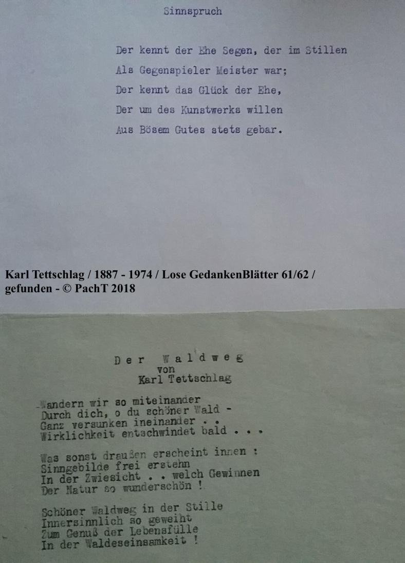 1887 - 1974 Erinnerungen an meinen Opa _ Lose GedankenBlätter 61:62