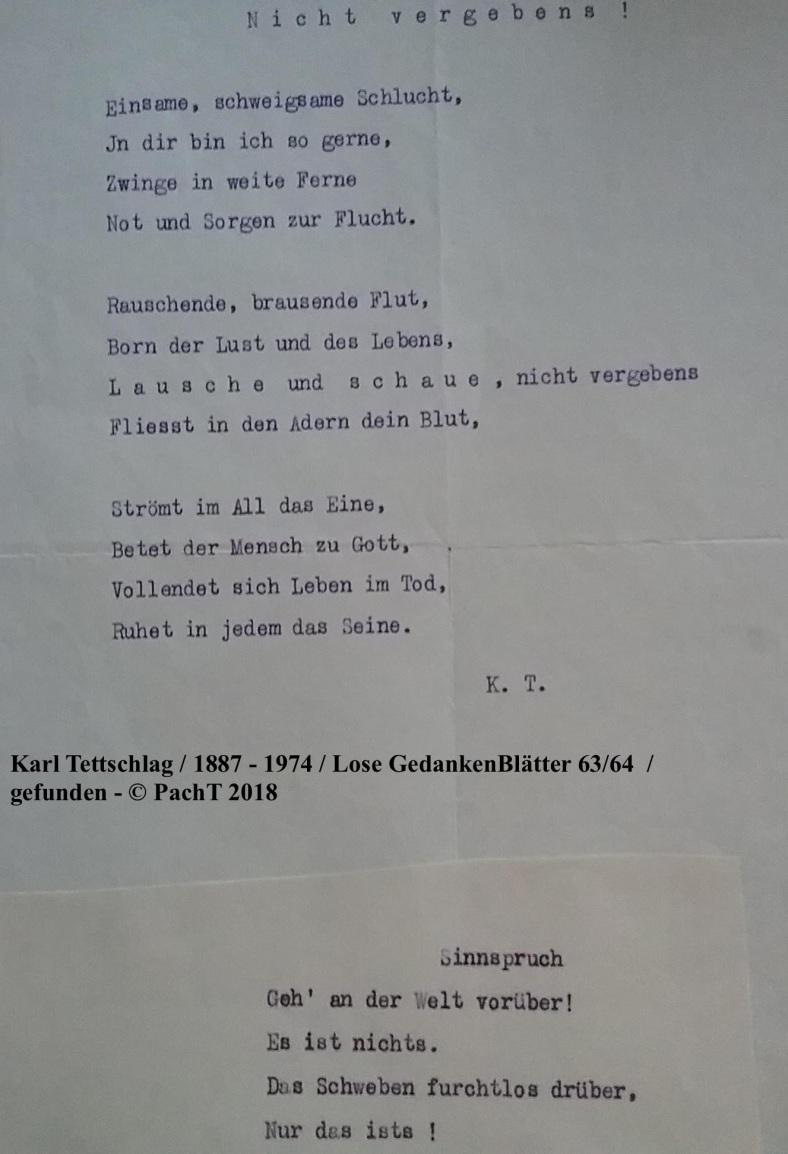 1887 - 1974 Erinnerungen an meinen Opa _ Lose GedankenBlätter 63:64
