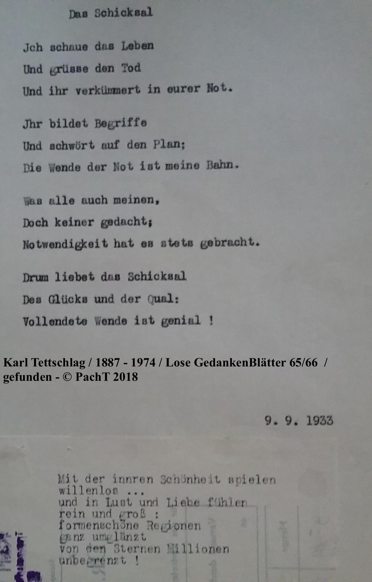 1887 - 1974 Erinnerungen an meinen Opa _ Lose GedankenBlätter 65:66
