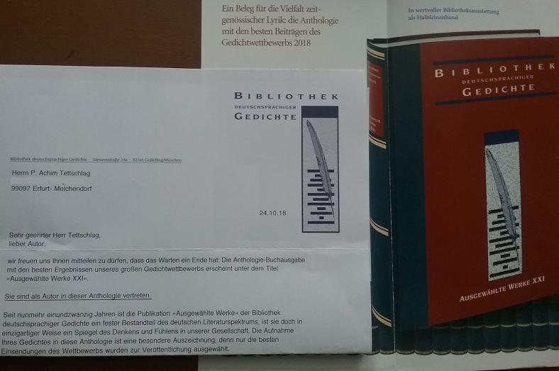 Bibliothek dtschspr. Gedichte 2018_ 05_ Bd. XXI _Edition