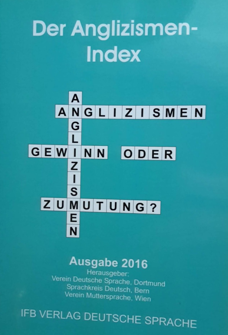Buch Anglizismen-Index