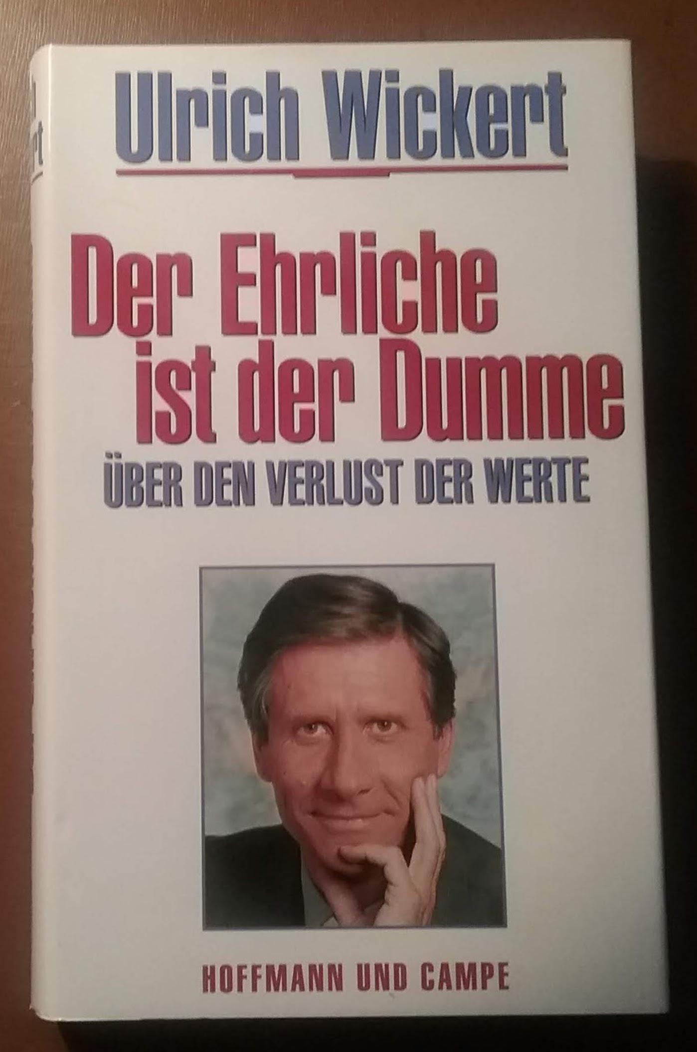 Buch Der Ehrliche ist ...