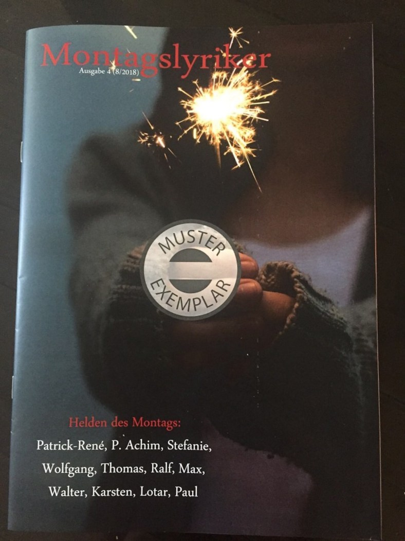 BuchMagazin MontagsLyriker Bd. 4 Cover