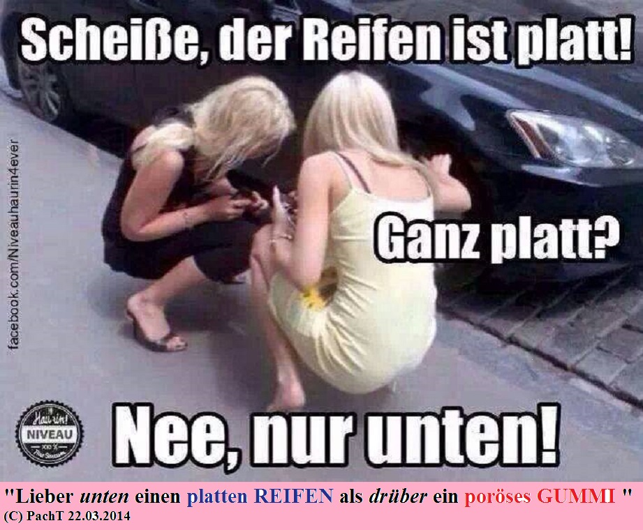 Defekter REIFEN_poroeses GUMMI