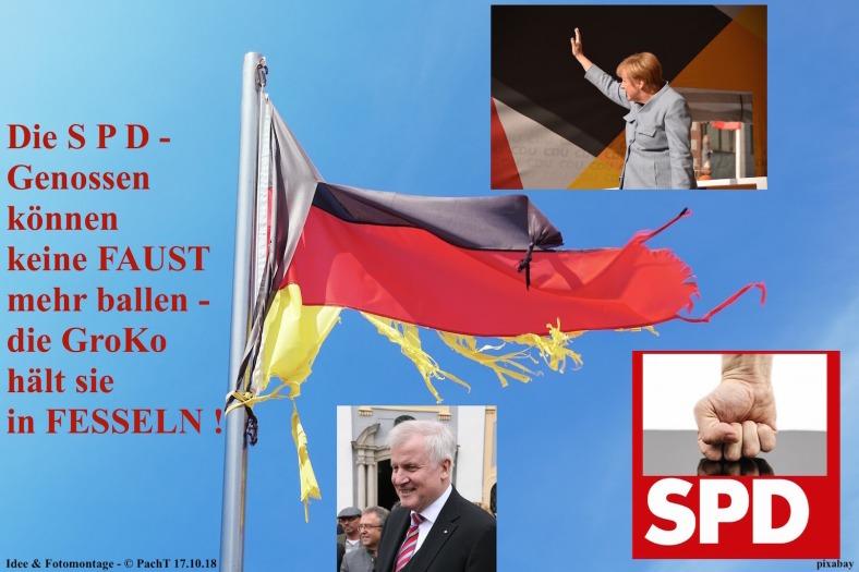 GroKo fesselt SPD