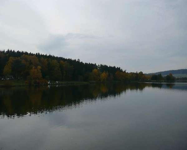 Herbst am Stausee Hohenfelden2