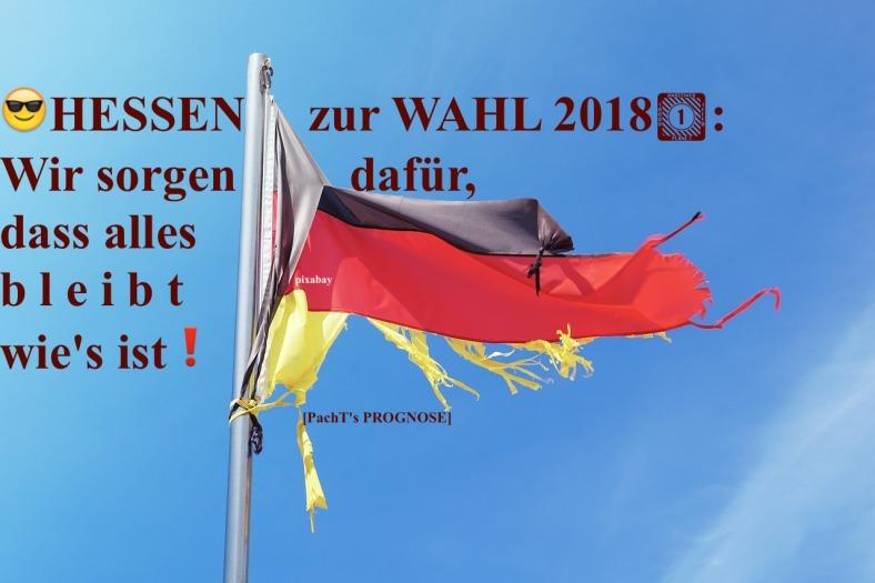 Hessenwahl 2018 PROGNOSE