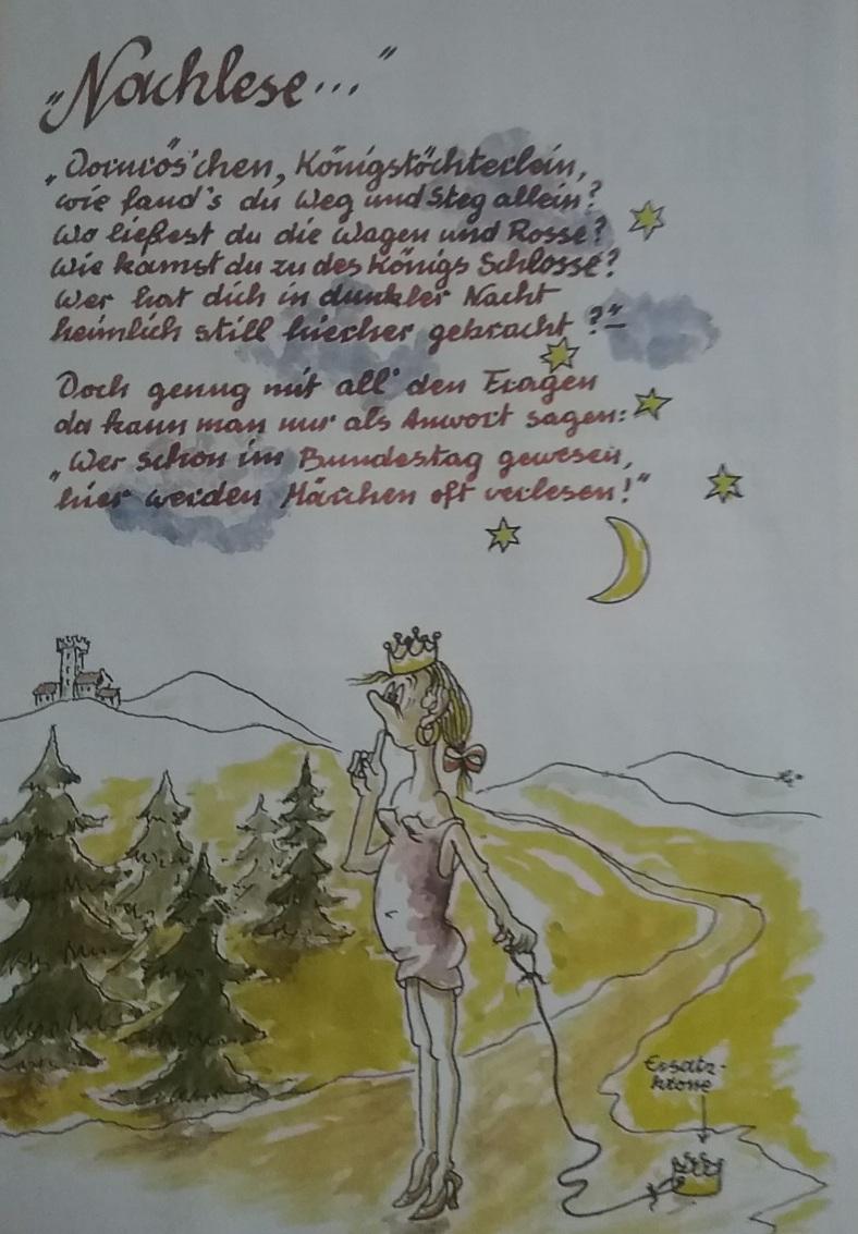 Karikatur Nachlese _ G. L.