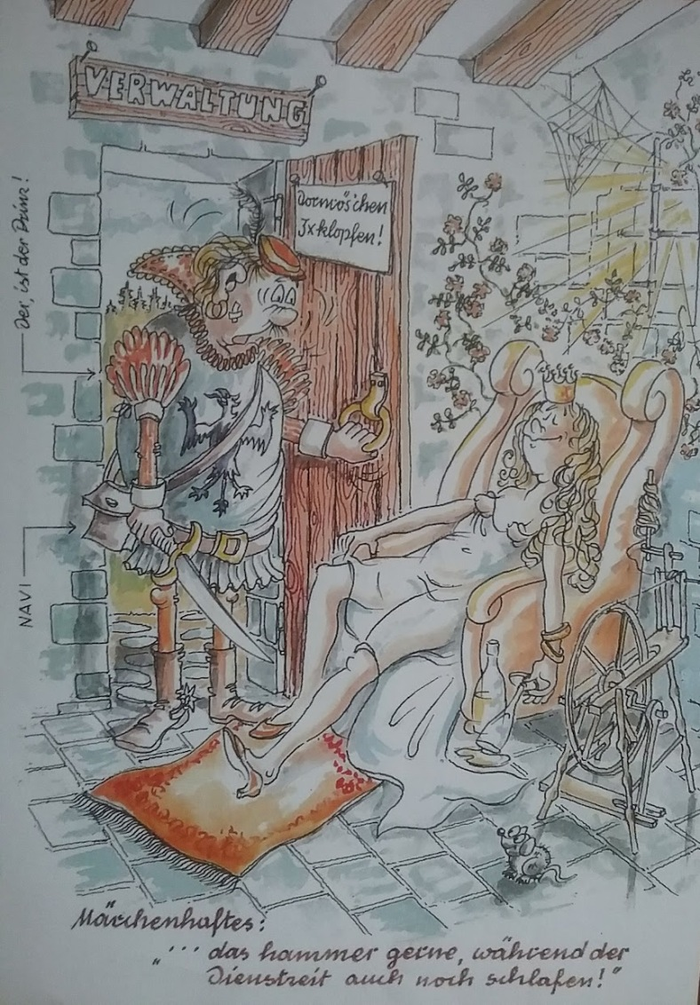 Karikatur Verwaltung _ G. L.