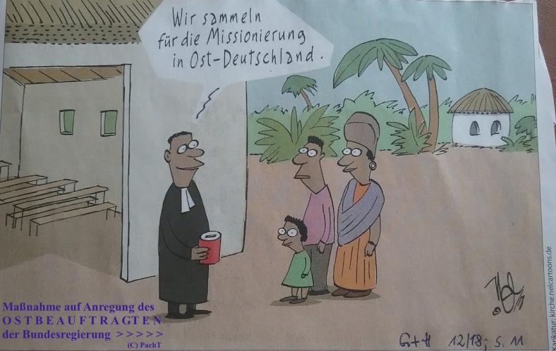 Karikatur Vorschlag vom OstBeauftragten