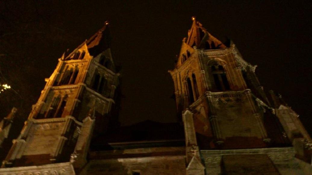 Stadt MÜHLHAUSEN 31 Divi Blasil Kirche nachts.jpg