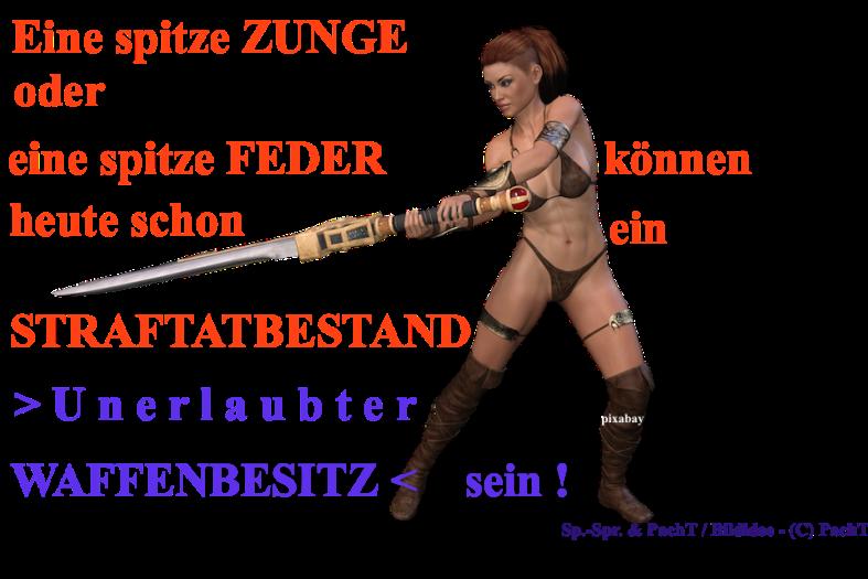 ZitatSpont WaffenBesitz