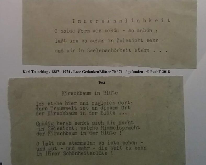 1887 - 1974 Erinnerungen an meinen Opa _ Lose GedankenBlätter 70:71