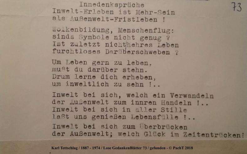 1887 - 1974 Erinnerungen an meinen Opa _ Lose GedankenBlätter 73