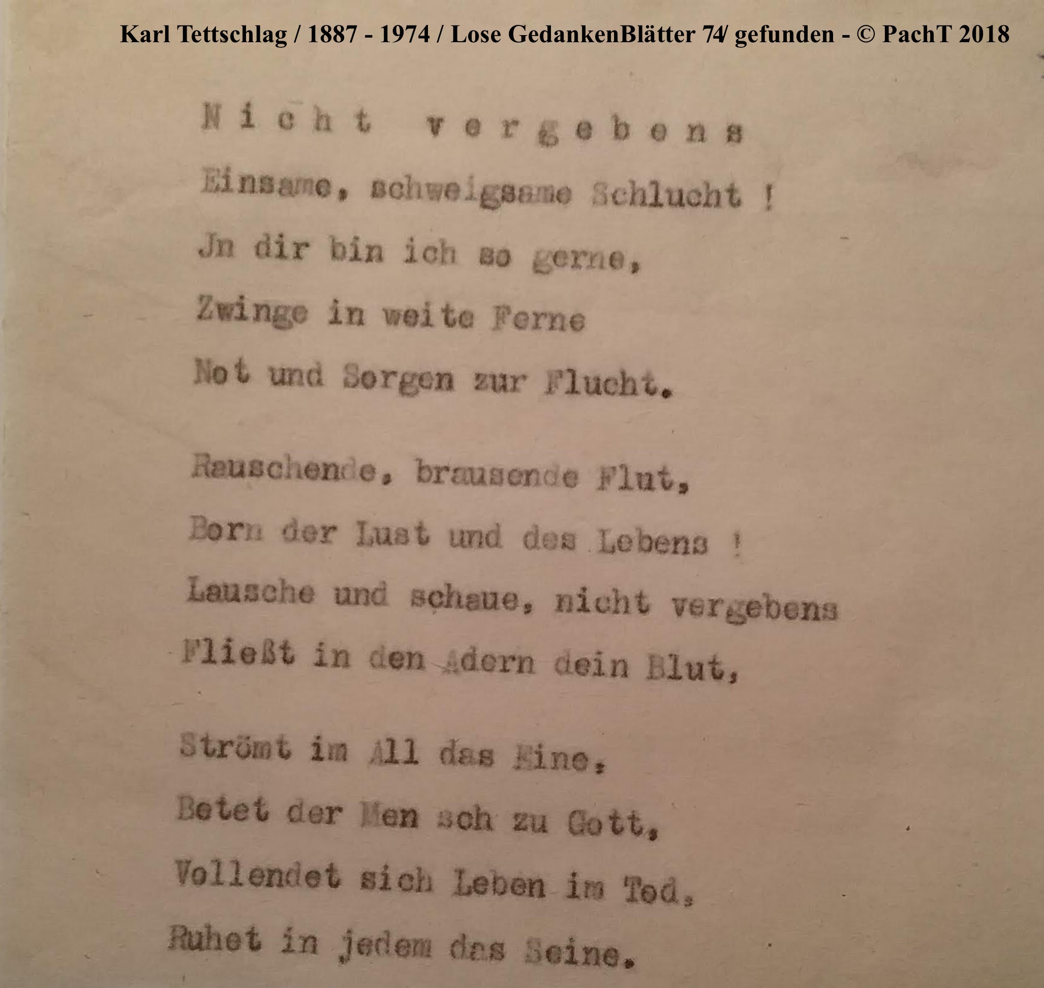 1887 - 1974 Erinnerungen an meinen Opa _ Lose GedankenBlätter 74