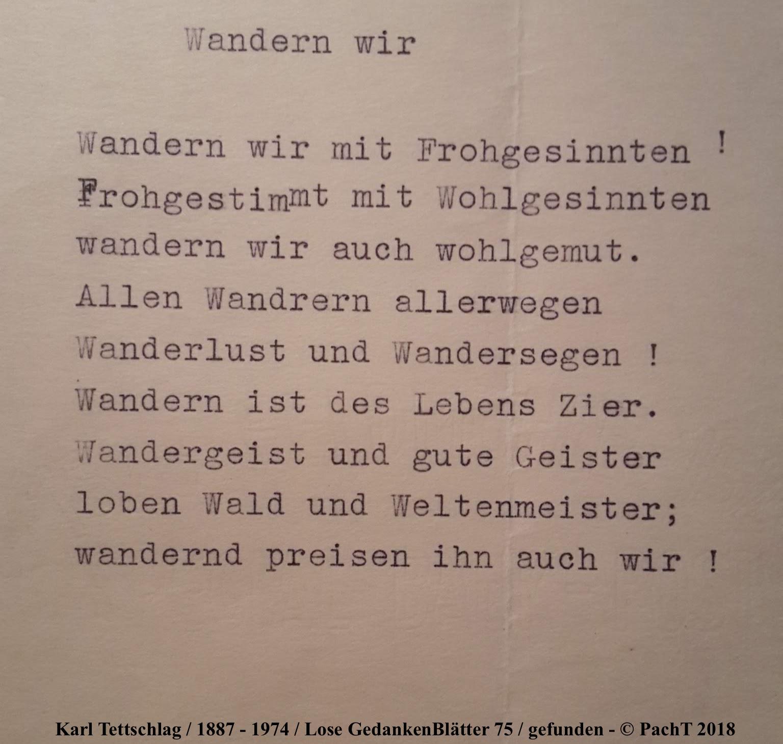 1887 - 1974 Erinnerungen an meinen Opa _ Lose GedankenBlätter 75