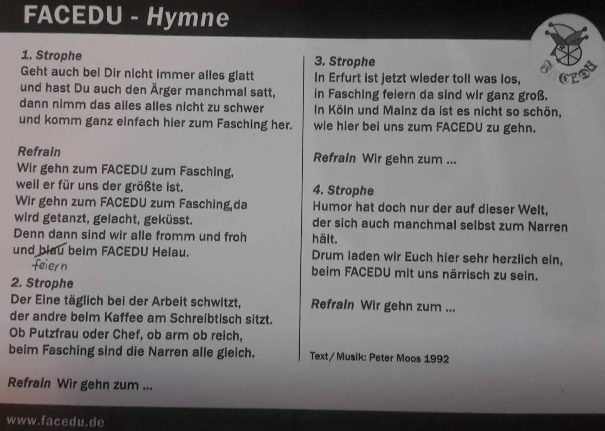 2018.11.17 _ 04 FaCeDu SessionsEröffnung 2018_19 Hymne