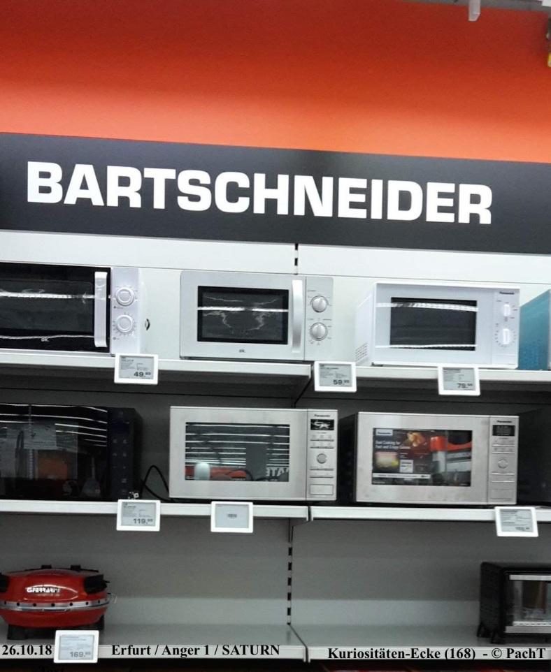 KURIOS 168 BartSchneider bei SATURN Erfurt