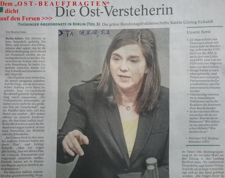 OST - Versteherin im dtsch.BT