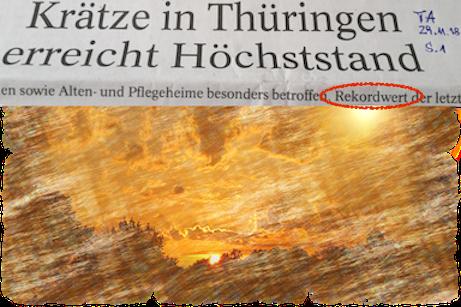 SchlagZeile Krätze _ war mal ... ist wieder 29.11.18