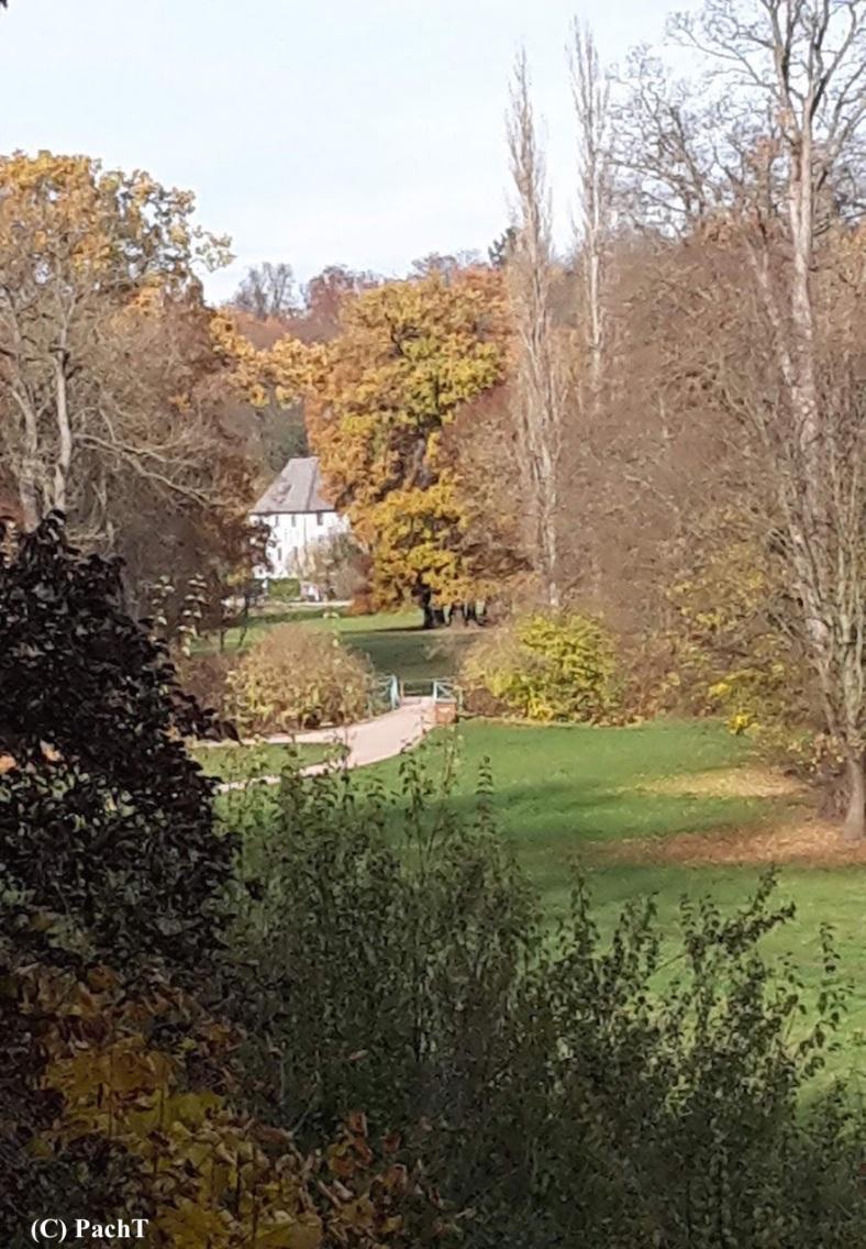 Weimar IlmPark Impression 15 Gartenhaus