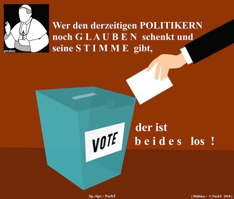 ZitatSpont GLAUBEuSTIMME_POLITIK