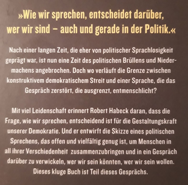 Buch Wer wir sein könnten 2 Robert Habeck