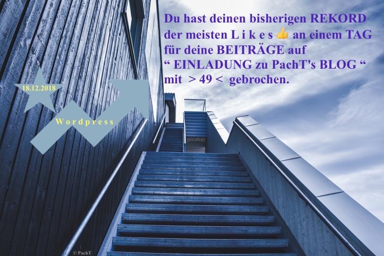 PachTs wordpress 29 Neuer LIKES - TagesRekord_ 18.12.18