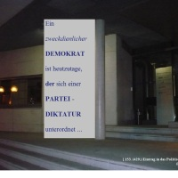 28.09.20 #Partei u. #Schiene ergeben geradliniges #Diktat