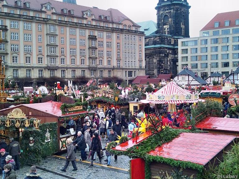 Weihnachten Dresden Striezelmarkt