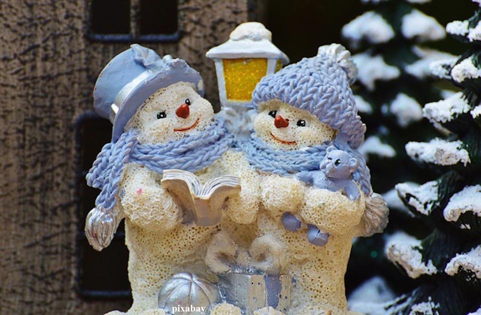 Weinachten Schneemänner