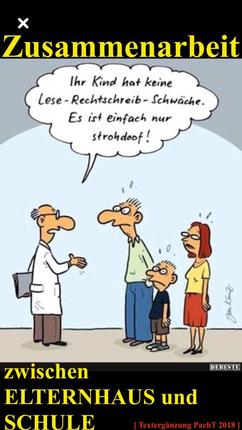 Karikatur SchulOffenbarung