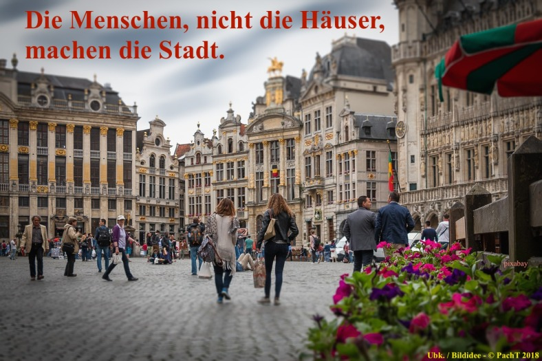 Zitat Stadtleben