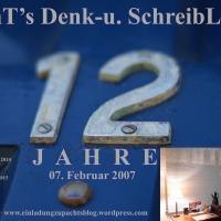 07.02.19 # Beinahe vergessen: Ein JUBILÄUM #