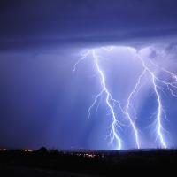11.08.20 #Blitzschlag als #Wecker  - #Träumen ist schöner !