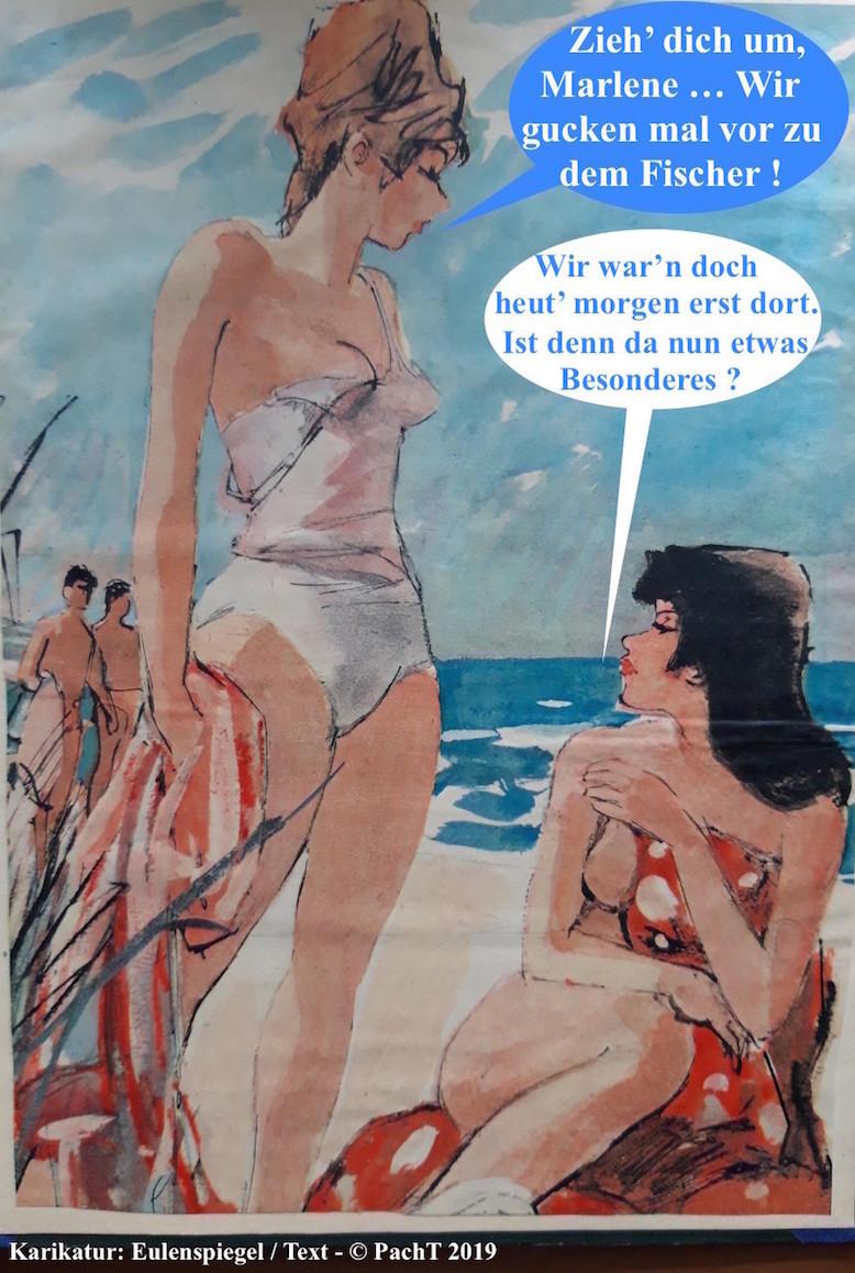 Karikaturenwunder Frau Sex