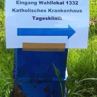 26.05.19 # Wegweisung am Wahltag #