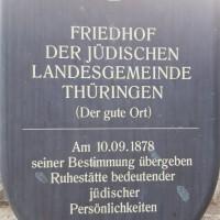 14.07.19 # Jüdischer Friedhof in Erfurt - Impressionen #