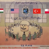 18.10.19 #Europa ist #ratlos, aber #konfliktreich #