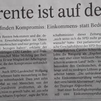 12.11.19 # GRUNDRENTENBESCHLUSS + ABGEORDNETENDIÄTEN #