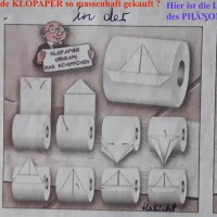 07.04.20 #  Das PHÄNOMEN  KLOPAPIER #